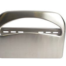 1/2 Fold Stainless Steel Toilet Seat Cover Dispenser