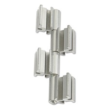 Safco® Rumba™ Whiteboard Screen Accessories, Ganging Connector Set, Silver
