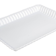 "Flairware 9""x 13"" SERVING TRAY - 293-WH"