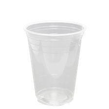 16 oz Clear PLA Cups (Karat Earth, 98mm)