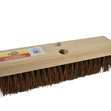 "12"" Palmyra Deck Scrub Brush"