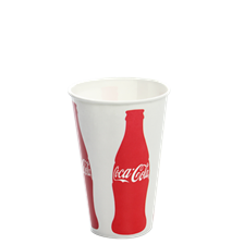 "12oz Cold Paper Cup (Generic, ""Coca-Cola"")_84mm"