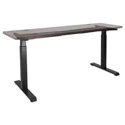 "Alera® 2-Stage Electric Adjustable Table Base, 27 1/2"" to 47 1/4"" High, Black"