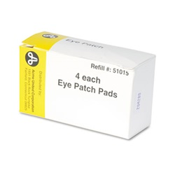 "PhysiciansCare® by First Aid Only® Emergency First Aid Eye Patch, 2"" x 3"", 4/Box"
