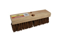 "10"" Palmyra Deck Scrub Brush"