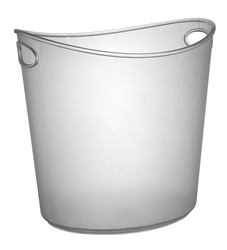 Platter Pleasers 1 Gallon Oval Ice Bucket - 3404