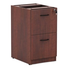 Alera® Alera Valencia F/F Drawer Full Pedestal, 15 5/8 x 20 1/2 x 28 1/2, Medium Cherry