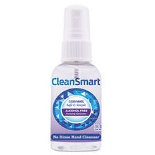 CleanSmart™ Antimicrobial Hand Cleanser Spray, 2 oz Spray Bottle