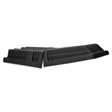 Rubbermaid® Commercial Hinged Tilt Truck Lid, Rectangular, 28 1/2 x 56 1/2 x 9, Black