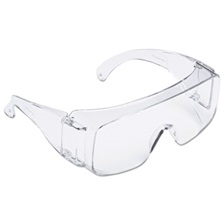 3M™ Tour Guard V Safety Glasses, One Size Fits Most, Clear Frame/Lens, 20/Box