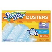 Swiffer® Refill Dusters, Dust Lock Fiber, Light Blue, Lavender Vanilla Scent, 10/Box