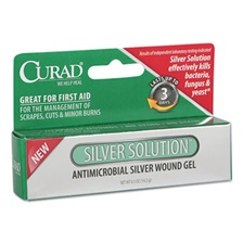 Curad® Silver Solution Antimicrobial Gel, .5oz Tube