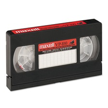 Maxell® Cleaning VHS Tape Cartridge