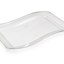"Wavetrends 6.5"" x 10"" Salad plate - 1406-CL"