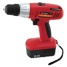 "Great Neck® Great Neck 18 Volt 2 Speed Cordless Drill, 3/8"" Keyless Chuck"
