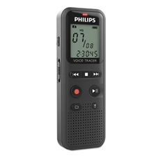 Philips® Digital Voice Tracer 1150 Recorder, 2GB, Black