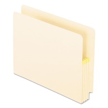 Pendaflex® Convertible File, Straight Cut, 3 1/2 Inch Expansion, Letter, Manila, 25/Box