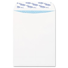 Columbian® Grip Seal Security Tinted Catalog Envelopes, 9 x 12, 28lb, White Wove, 100/Box