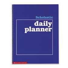 Scholastic Daily Planner, Grades K-6, 11 x 8-1/2, 88 Pages