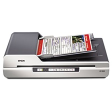 Epson® GT-1500 Flatbed Color Image Scanner, 600dpi, Manual Paper Feeder