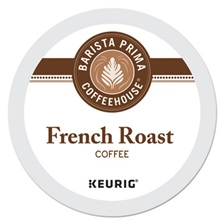Barista Prima Coffeehouse® French Roast K-Cups Coffee Pack, 24/Box