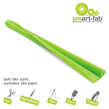 Smart-Fab® Smart Fab Disposable Fabric, 48 x 40 roll, Apple Green