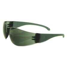 Boardwalk® Safety Glasses, Gray Frame/Gray Lens, Polycarbonate, Dozen