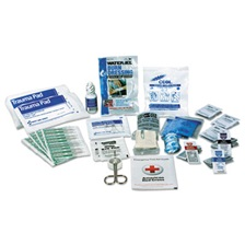 First Aid Only™ ANSI 2015 Compliant First Aid Kit Refill, Class A, 25 People, 89 Pieces