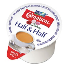 Carnation® Half & Half, 0.304 oz Cups, 360/Carton