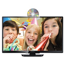 "Magnavox® LED/DVD Combo TV, 31 1/2"", 720p, Black"