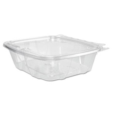 Dart® ClearPac Container, 6.4 x 1.9 x 7.1, 24 oz, Clear, 200/Carton
