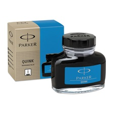 Parker® Super Quink Washable Ink for Parker Pens, 2 oz Bottle, Blue