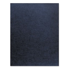 Fellowes® Linen Texture Binding System Covers, 11 x 8-1/2, Navy, 200/Pack