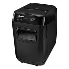 Fellowes® AutoMax 200C Auto Feed Medium-Duty Cross-Cut Shredder, 200 Sheet Capacity