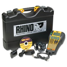 DYMO® Rhino 6000 Industrial Label Maker Kit, 5 Lines, 13 4/5w x 17 4/5d x 4h