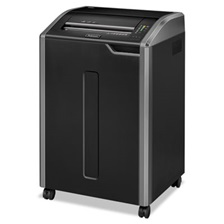 Fellowes® Powershred 485i 100% Jam Proof Continuous-Duty Strip-Cut Shredder, TAA Compliant