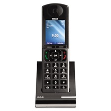 RCA® IP060S Six-Line Cordless Accessory Handset for IP160S Cordless VoIP Phone