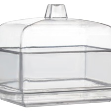 "Tiny Temptations 2.65"" Rectangular Domains w/Lid - 6703-CL"