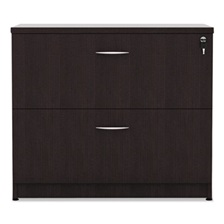Alera® Alera Valencia Series Two Drawer Lateral File, 34w x 22 3/4d x 29 1/2h, Espresso