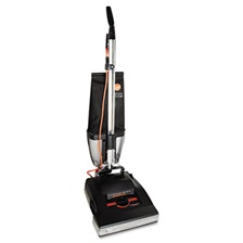 Hoover® Commercial Conquest Bagless Upright Vacuum, 25lb, Black