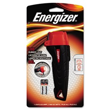 Energizer® Rubber Flashlight, 2 AAA, Small