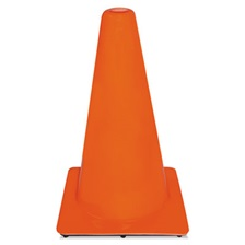 3M™ Non-Reflective Safety Cone, 11 x 11 x 18, Orange