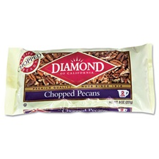 Diamond of California® Chopped Pecans, 8oz Bag