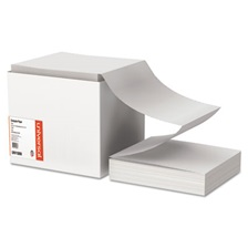 Universal® Computer Paper, 15lb, 9-1/2 x 11, Letter Trim Perforations, White, 3300 Sheets