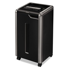 Fellowes® Powershred 325i 100% Jam Proof Strip-Cut Shredder, 24 Sheet Capacity