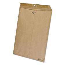 Ampad® Earthwise by Ampad 100% Recycled Paper Envelope, 10 x 13, Brown, 110/Box