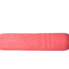 "24"" Microfiber Scrubbing Looped Wet Mop Pad Red"