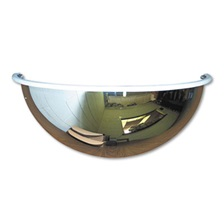 "See All® Half-Dome Convex Security Mirror, 18"" dia."