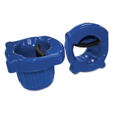 "General Supply Hand Core Dispenser for Stretch Film Rolls 12"" to 18"" Wide, Blue"
