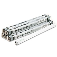 "GE 24"" Fluorescent Tubes, 20 Watts, 6/Pack"